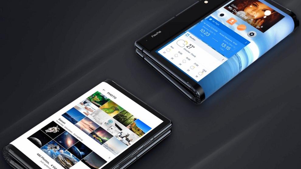 primeiro smartphone dobrável do mundo