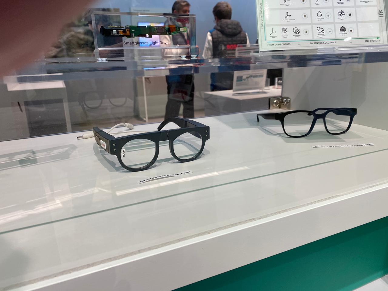 Óculos inteligente Bosch